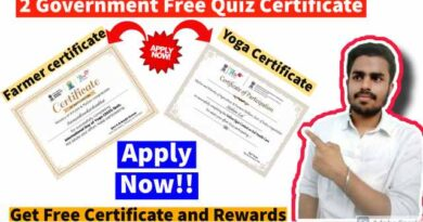 Government Free Certification | Online Quiz with e-Certificate | 2 MyGov Free Certificate