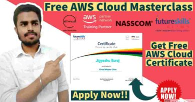 INDIA'S LARGEST CLOUD SKILLING EVENT | Free AWS Cloud Masterclass | Free AWS Certificate in 2021