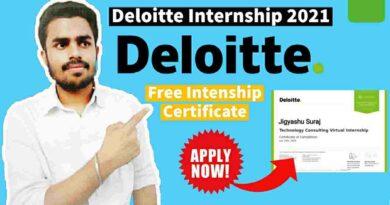 Deloitte Hiring Interns | Customer & Marketing Intern Analyst | Free Internship 2021 [Latest Update‼️]