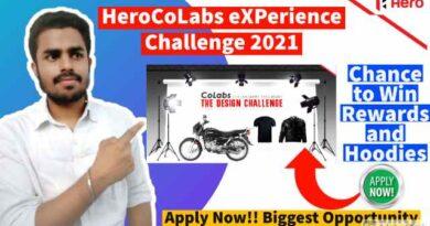 HeroCoLabs eXPerience Challenge 2021 | Get Free Rewards & Grand Prizes