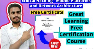 Ethical Hacking - Mobile Platforms and Network Architecture Course By Great Learning