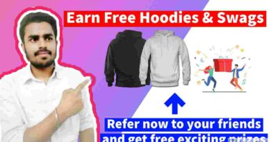 Free Goodies and Swags | Free T-Shirt | Earn Money in 2021