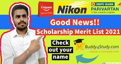 Good News‼️ Scholarships Result 2021 Declared [Latest Update‼️]