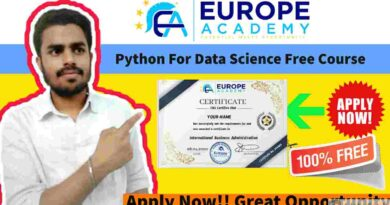 Python For Data Science Free Course in 2021   Free Course With Free Certificate