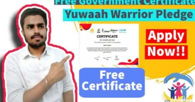 Free Government Certificate | Young Warrior Free certificate
