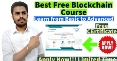Blockchain Free course | Free Course with FREE Certificate | Learn Advance Skills