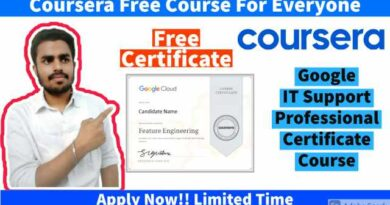 Google IT Support Professional Certificate Coursera Courses   Free Google IT Support Professional Certificate   Coursera Free Courses