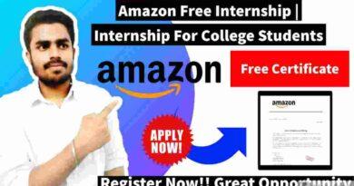 Amazon Summer Internship | Internships For College Students | Internship 2021
