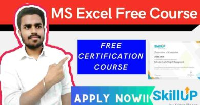 Free Microsoft Excel Training | Excel Free course with certificate