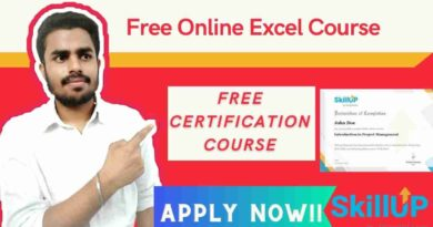 Free Online Excel Course | Free Excel course for All