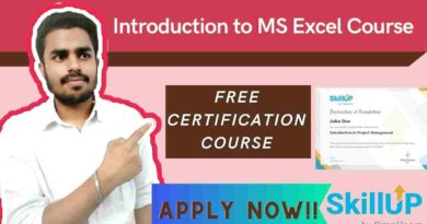 Introduction to MS Excel Course