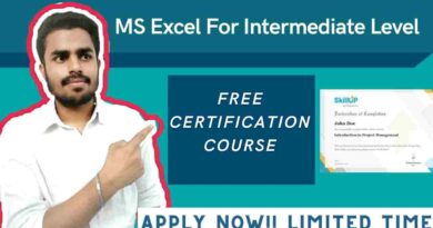 Excel for Intermediate Level | Free Advance Excel Course