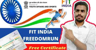 Fit India Freedom Run Registration 2021   Run India, Win India!!