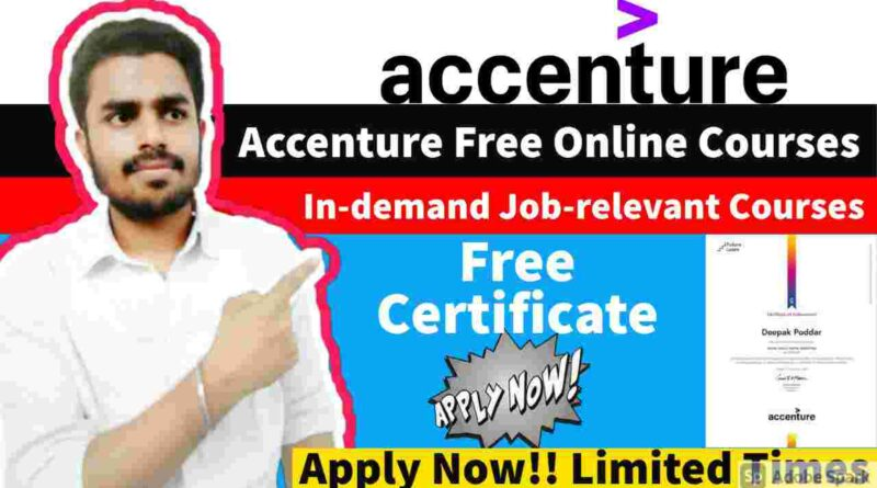 Accenture Free Courses with Free Certificates   FutureLearn Free Courses