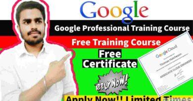 Google Free Courses With Certificate   Google Cloud Platform Fundamentals