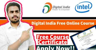 Free Online Bootcamp On Latest Technology | Digital India Free Training | Free Massive Open Online Course With Free Certificate