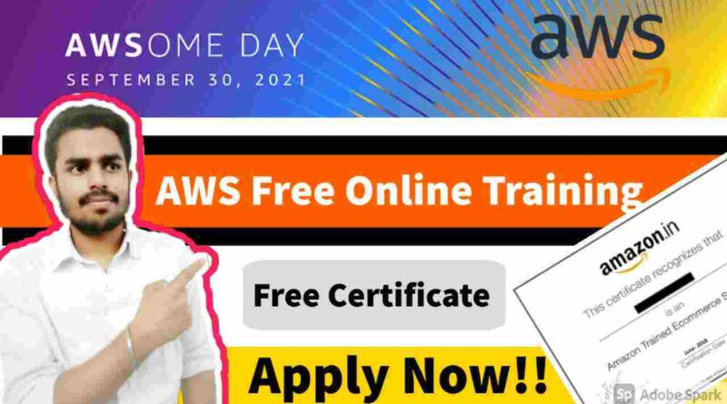 AWS Online Conference 2021 | AWS Free Online Training On Cloud Computing | AWS Free Online Certificate
