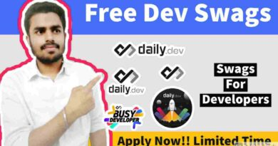 Free Swags, Stickers & Goodies | Free Swags For Developers | Dev Swag Opportunities 2021
