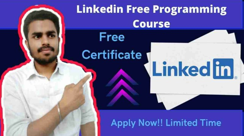 Programming Foundations Databases Linkedin Course 2021 | Linkedin Free Course For Everyone