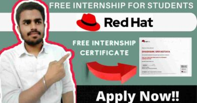 Red Hat Job-Opening 2021 | Free Internship For College Students | Intern- QE Associate