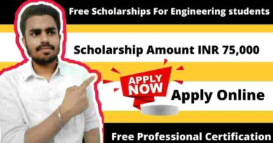 Schaeffler India Hope Engineering Scholarship 2021-22 | Free Government Scholarship | Scholarship Upto INR 75,000 Per Year